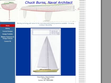 Cached version of Chuck Burns, Naval Architect