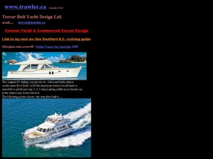 Cached version of Trevor Bolt Yacht Design Ltd