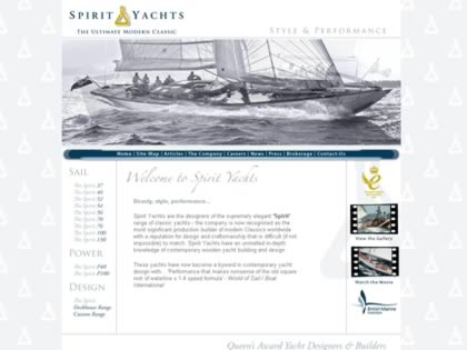 Cached version of Spirit Yachts