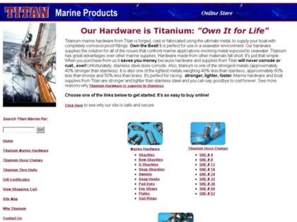Cached version of Titan Marine Hardware