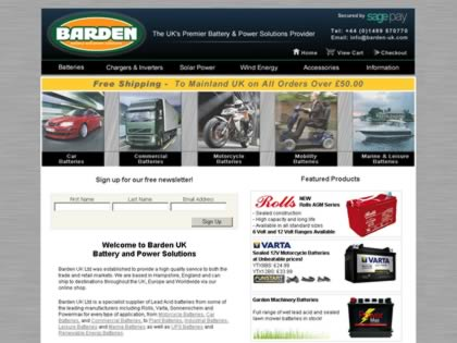 Cached version of Barden UK Ltd