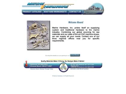 Cached version of Marine Hardware Inc.