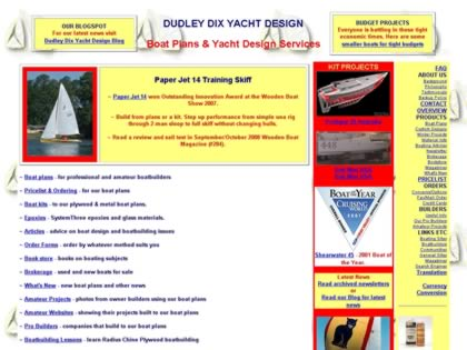 Cached version of Dudley Dix Yacht Design