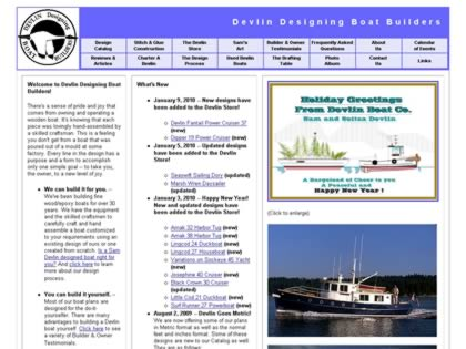 Cached version of Devlin Designing Boat Builders
