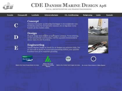 Cached version of CDE Danish Marine Design