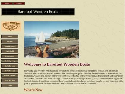 Cached version of Barefoot Wooden Boats