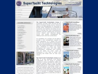 Cached version of Super Yacht Technologies