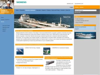 Cached version of Siemens Energy & Automation Marine Solutions