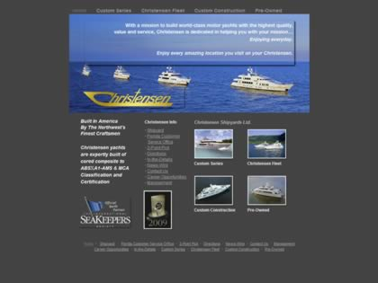 Cached version of Christensen Yachts