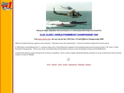 Cached version of U.I.M. Class 1 World Powerboat Championship
