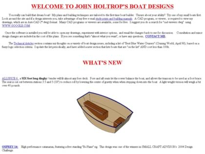 Cached version of John Holtrop Design