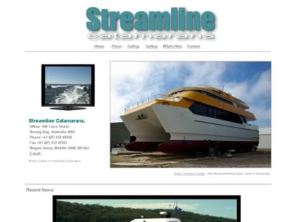 Cached version of Streamline Catamarans