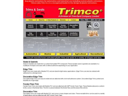 Cached version of Trimco-Trims & Seals