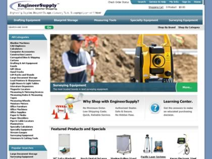 Cached version of EngineerSupply.com