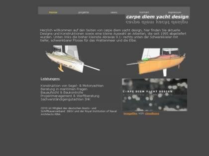 Cached version of Carpe Diem Yacht Design
