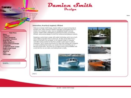 Cached version of Damien Smith Design