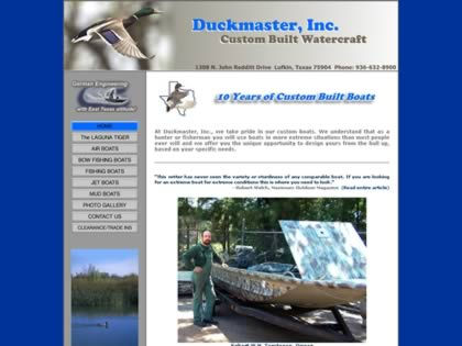 Cached version of Duckmaster Boats