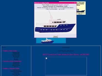 Cached version of Ruby Yachts