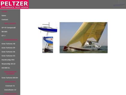 Cached version of Peltzer performance yacht design
