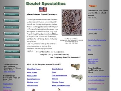 Cached version of Goulet Specialties
