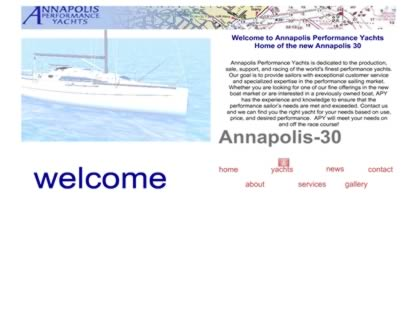 Cached version of Annapolis Performance Yachts