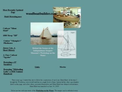Cached version of Building the Catboat Silent Maid, John Brady