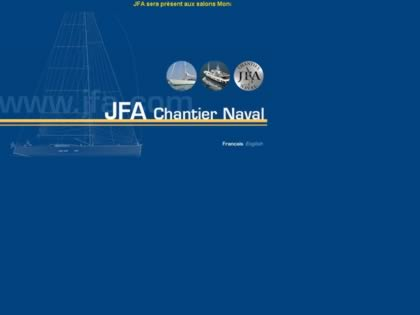 Cached version of JFA Chantier Naval