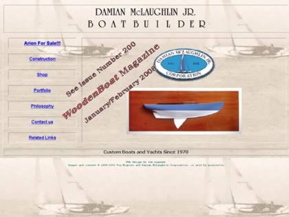Cached version of Damian McLaughlin Jr. Boatbuilder