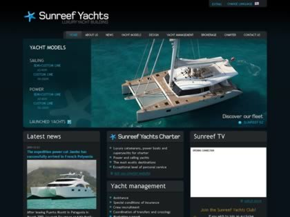 Cached version of Sunreef Yachts