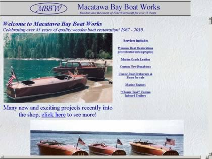 Cached version of Macatawa Bay Boat Works