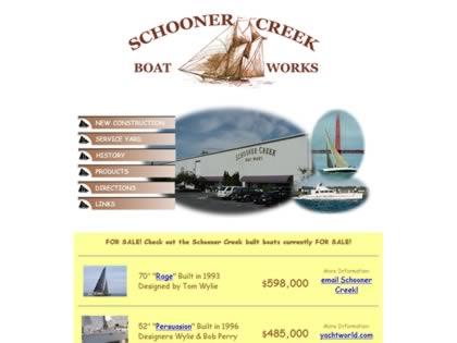 Cached version of Schooner Creek Boat Works