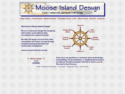 Cached version of Moose Island Design