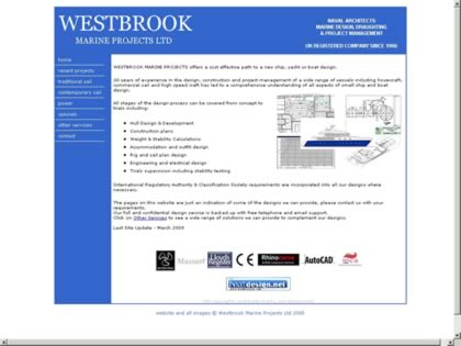 Cached version of Westbrook Marine Projects Ltd