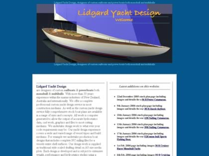 Cached version of Lidgard Yacht Design