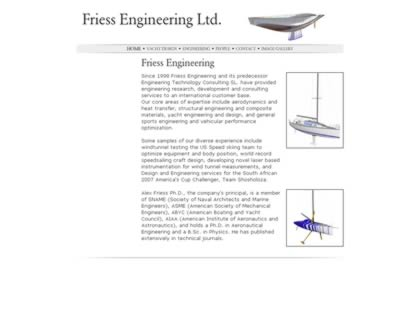 Cached version of Friess Engineering