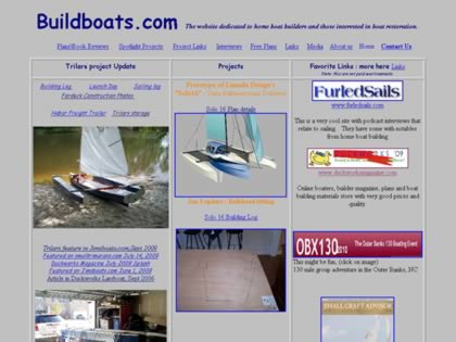 Cached version of The Home Boat Builders Page