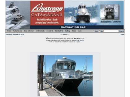Cached version of Armstrong Marine