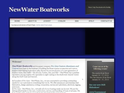 Cached version of NewWater Boatworks
