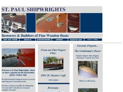Cached version of St. Paul Shipwrights