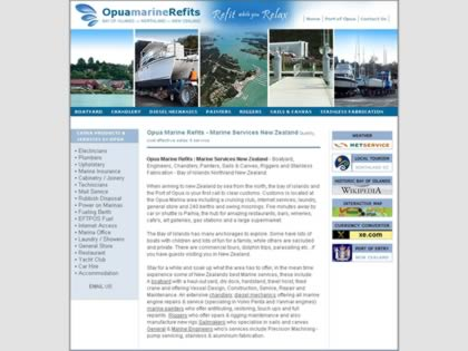 Cached version of Opua Marine Refits