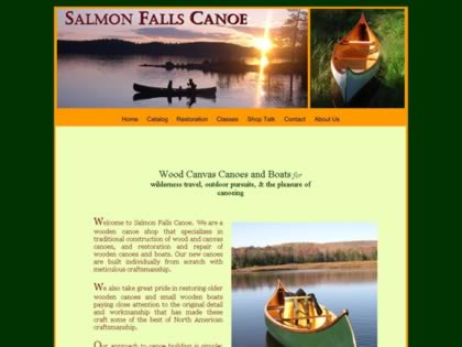 Cached version of Salmon Falls Canoe