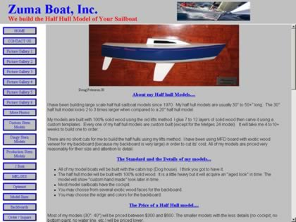 Cached version of Zuma Boat Inc.