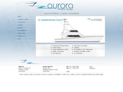 Cached version of Aurora Marine Design