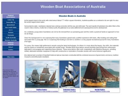 Cached version of Wooden Boat Association of Australia