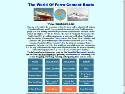 Cached version of The World Of Ferroboats