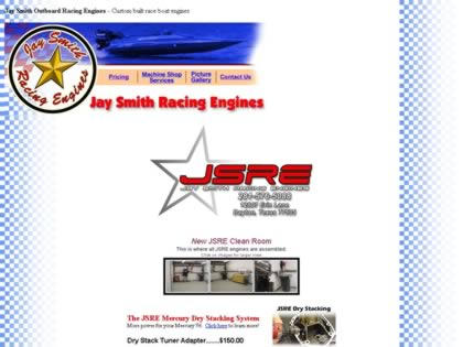 Cached version of Jay Smith Racing Engines