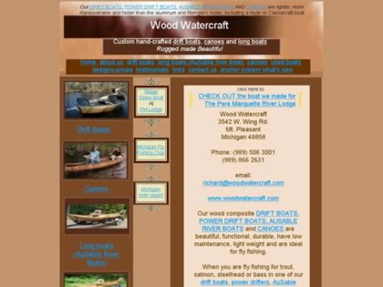 Cached version of Wood Watercraft