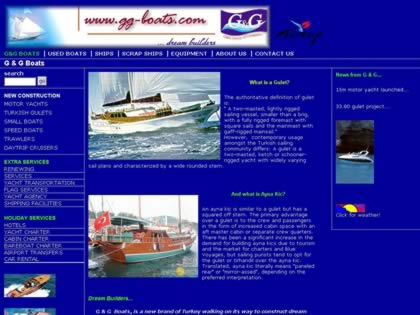 Cached version of G & G Boats