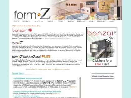 Cached version of Form-Z