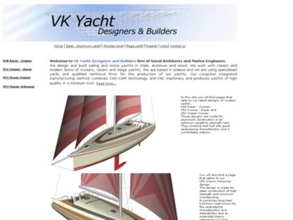 Cached version of VK Yacht Designers and Builders